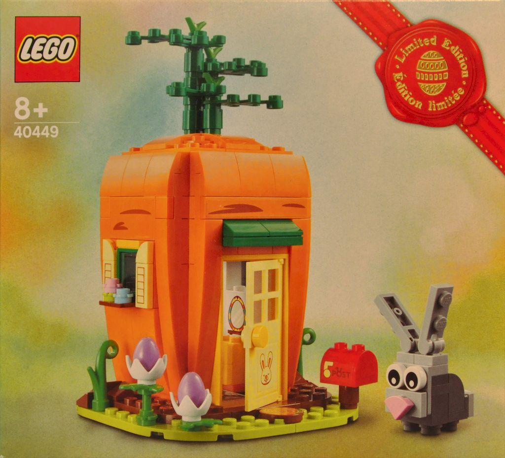 #40449 Karottenhaus des Osterhasen - Osterdeko