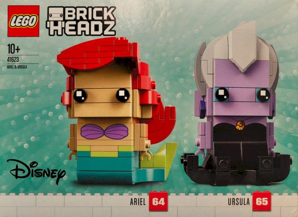 Arielle und Ursula BrickHeadz